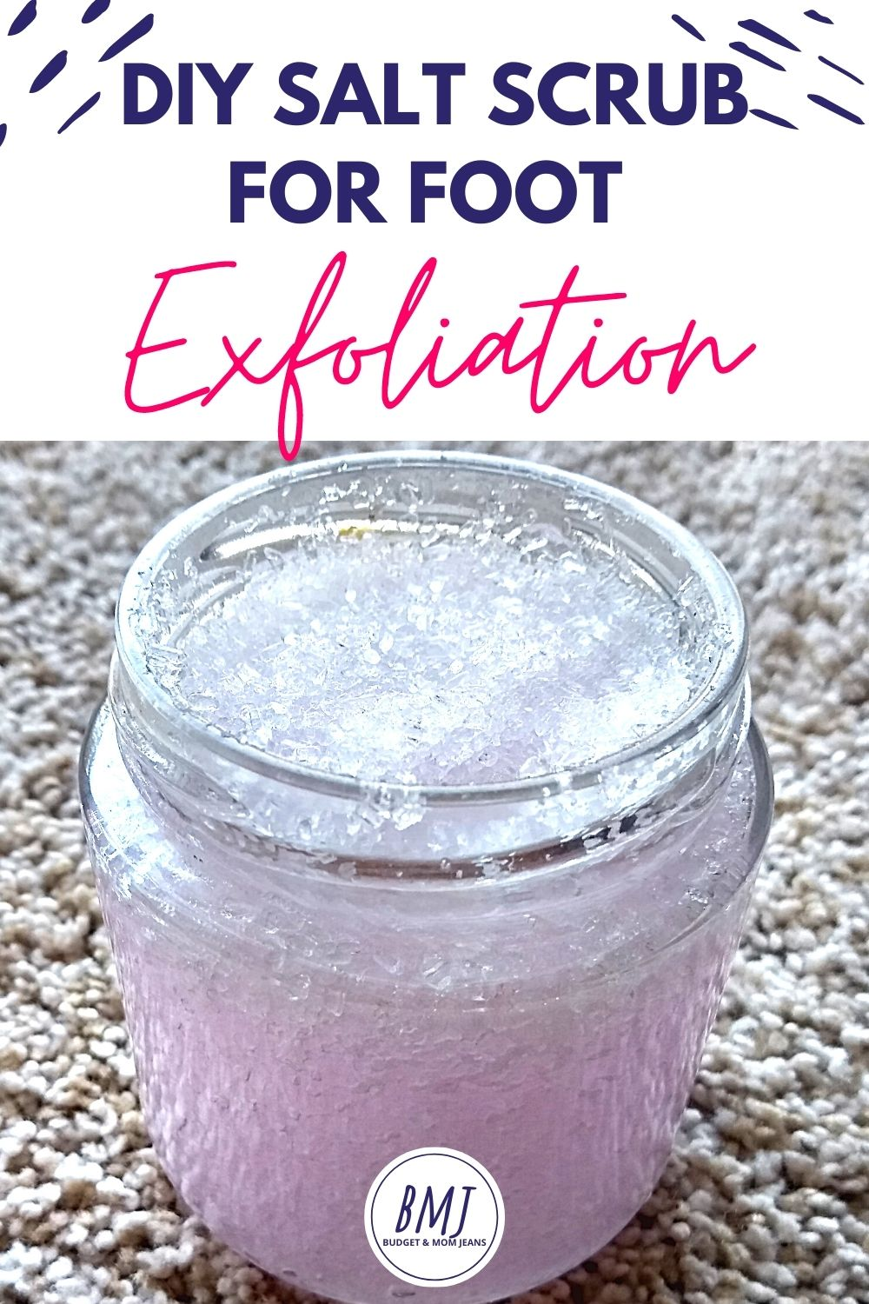 Lavender Epsom Salt Foot Scrub - Beautiful Handmade Gift Idea