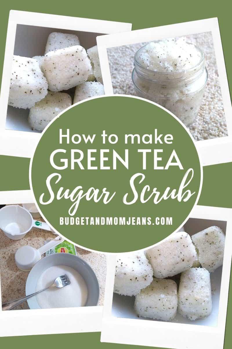 How To Make DIY Green Tea Sugar Scrub Cubes