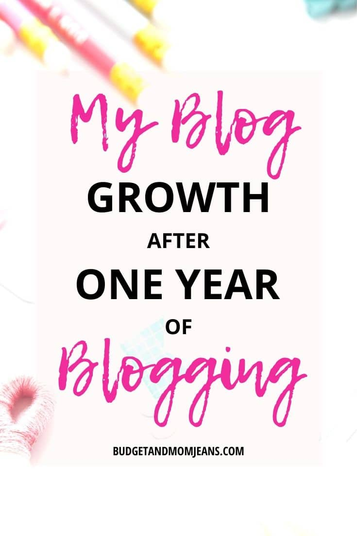 Blog Growth After Blogging For 1 Year