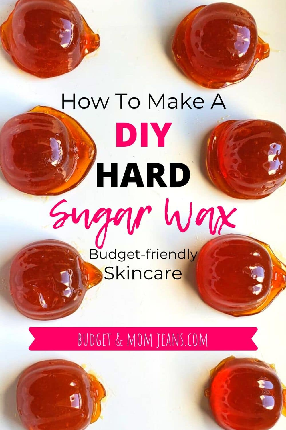 Homemade Hard Sugar Wax For Hair Removal | Pumpkin-Shaped