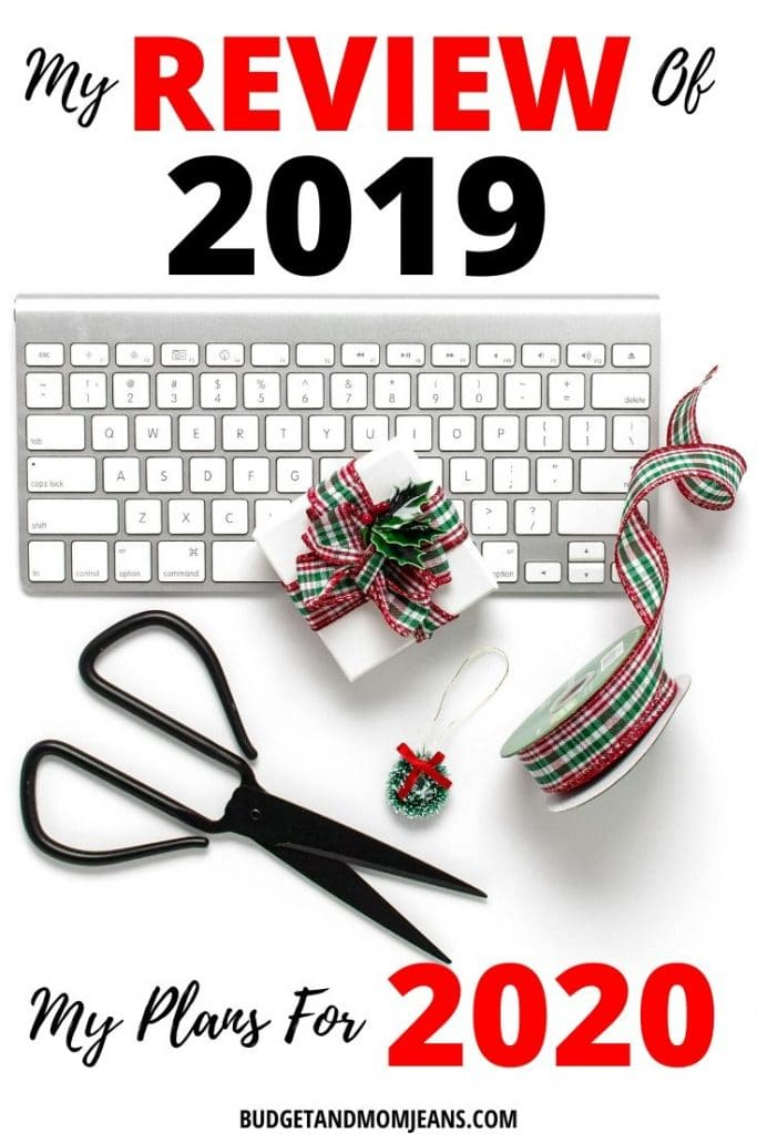 A Review of 2019, My Wins & More - Plans For 2020