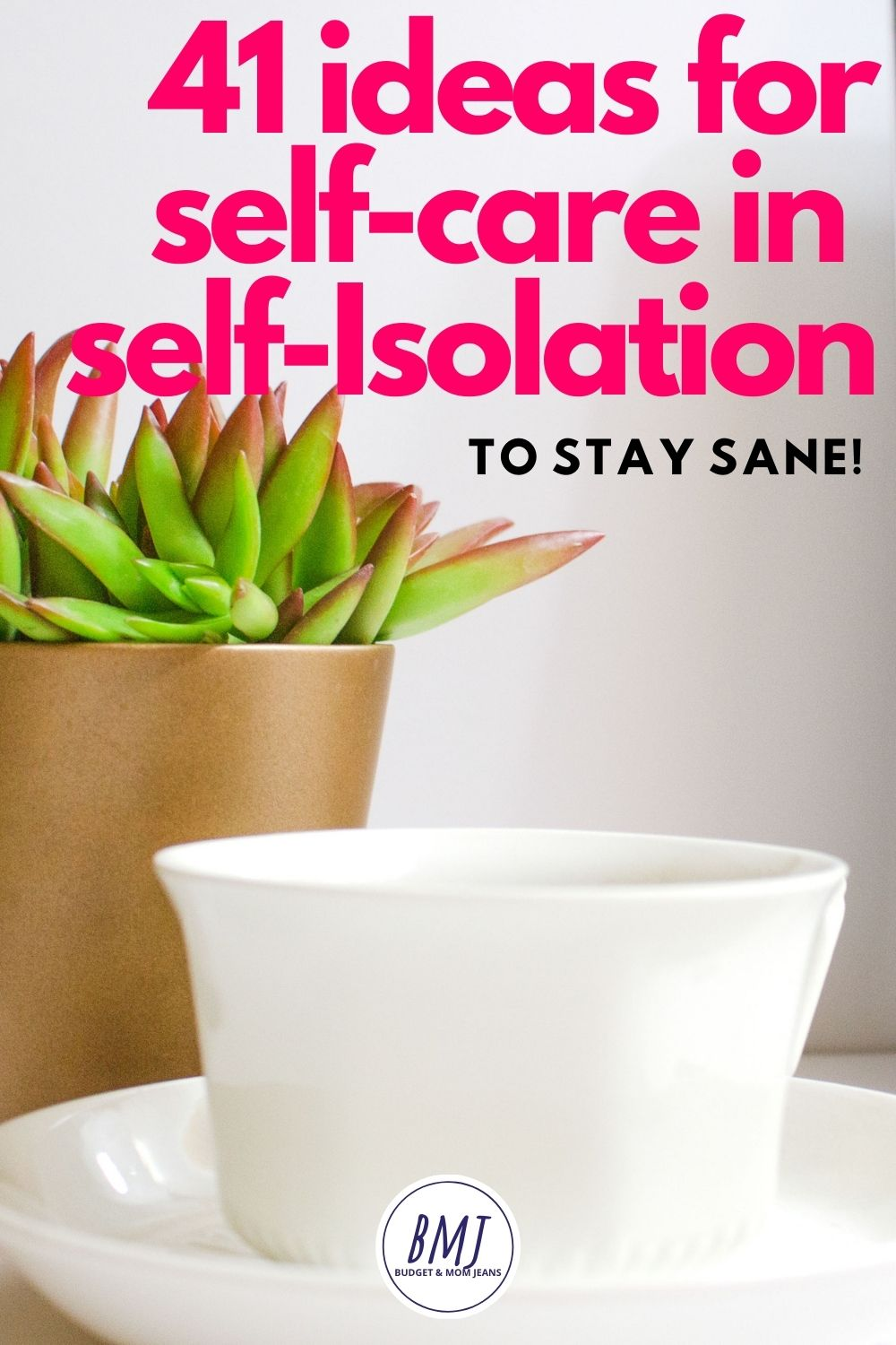 41 ideas for self-care in self-isolation, to stay sane