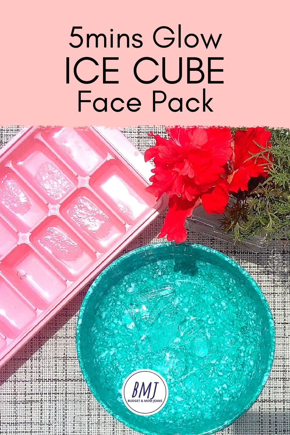 Simple Ice Cube Face Pack - Glow In 5 Minutes