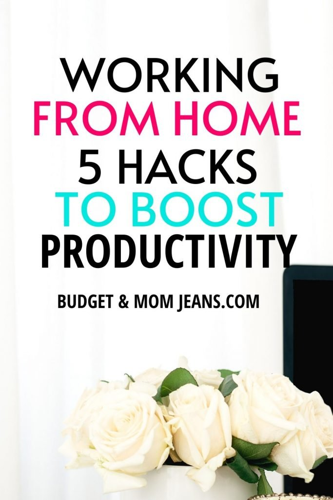 5 Simple Hacks To Boost Working From Home Productivity