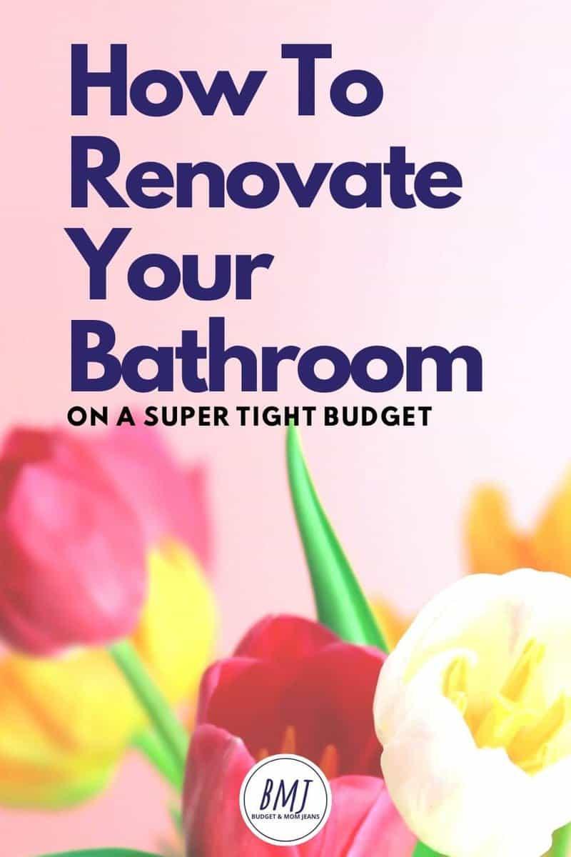 How To Do A Bathroom Renovation On A Budget?