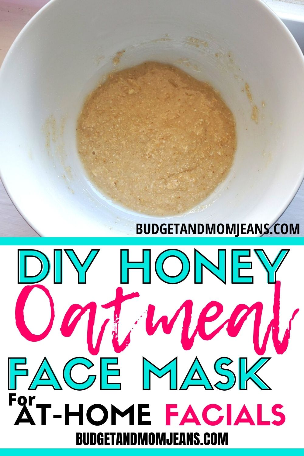 DIY Honey Oatmeal Face Mask For At-home Facials