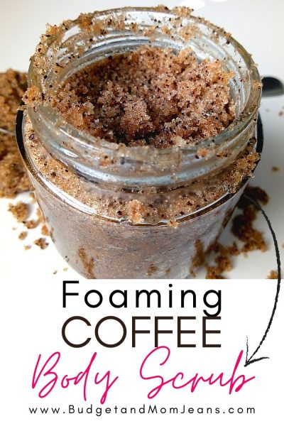 How To Make DIY Foaming Sugar Coffee Scrub Under $3