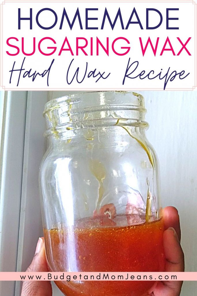 Hard Sugar Wax Recipe | How To Make DIY Sugar Wax
