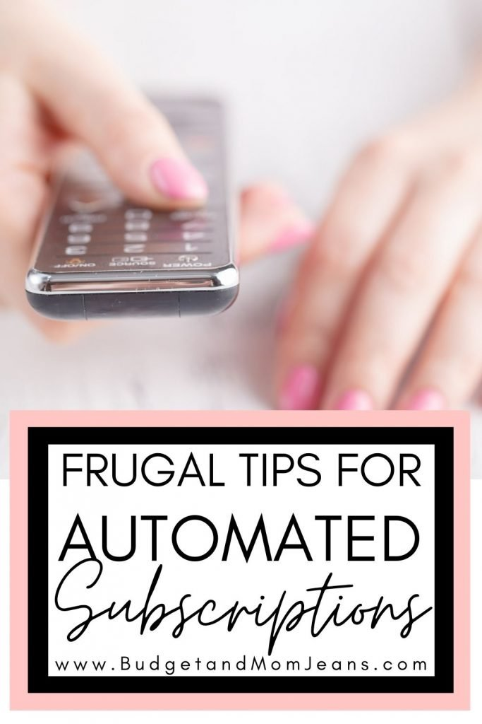 How To Stop Automated Payments From Wrecking Your Budget