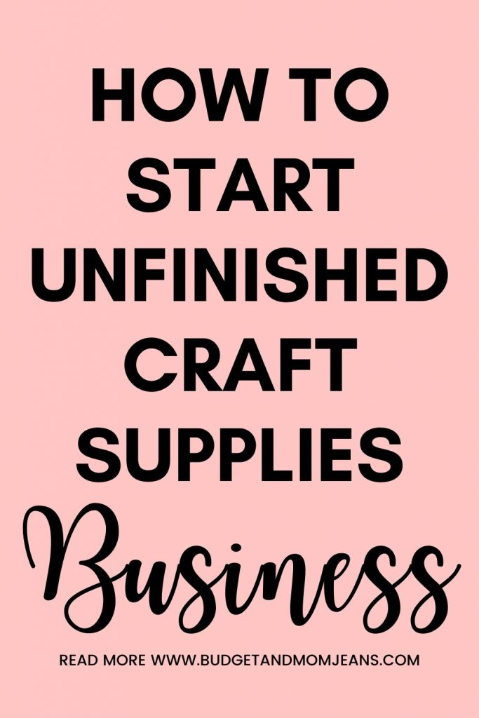 How To Make Money Selling Semi-Finished Craft Supplies