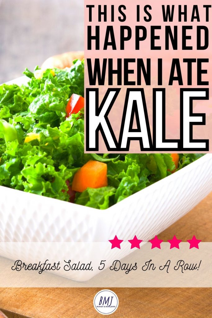 I Ate Kale Breakfast Salad For 5 Days, This Happened