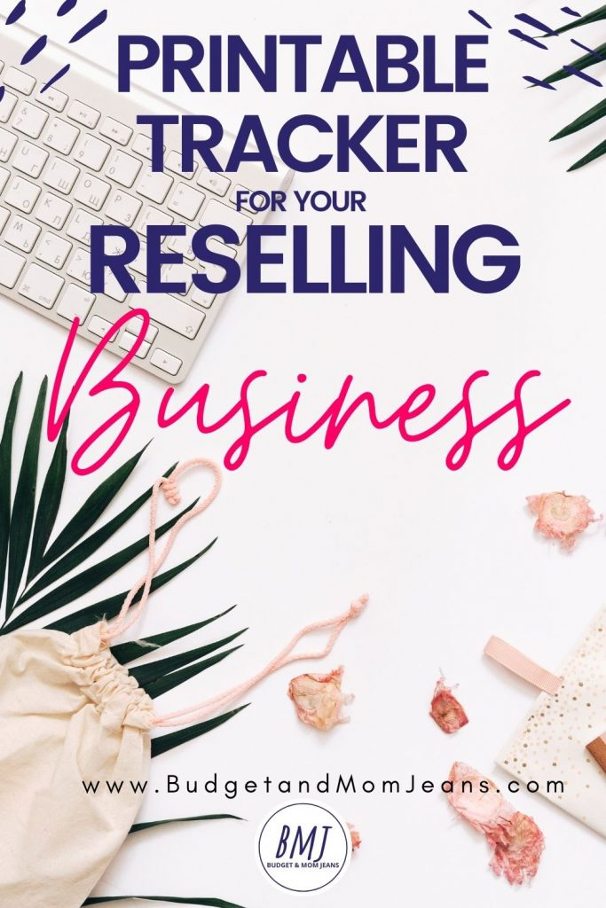 Free Printable Sales Tracker For Your Reselling Business