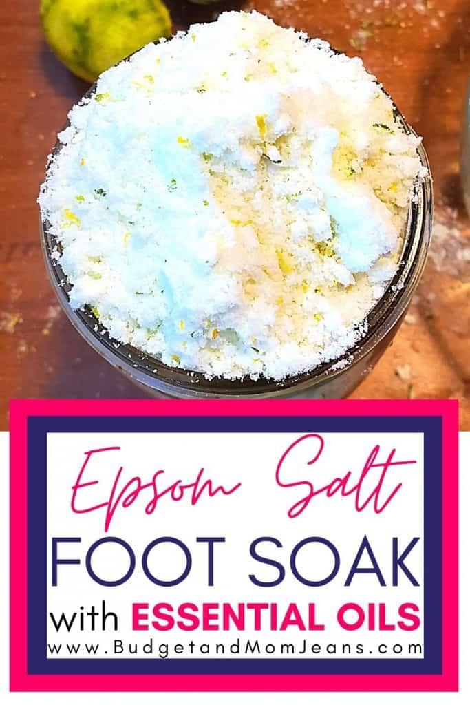 A Simple Epsom Salt Foot Soak For Tired Feet