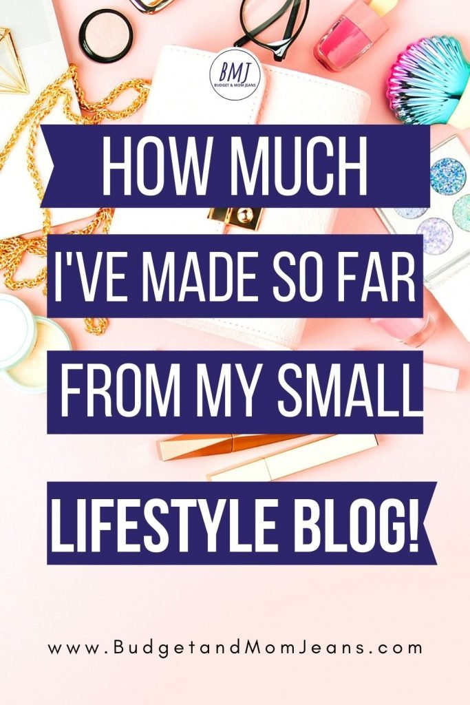 How Much I Have Made So Far - Blog Income Report