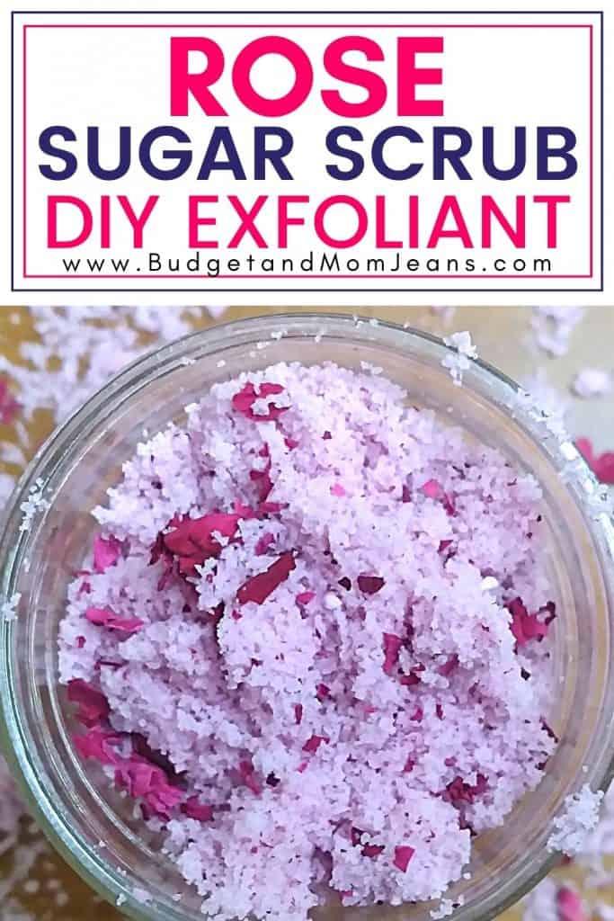 DIY Rose Sugar Scrub Recipe