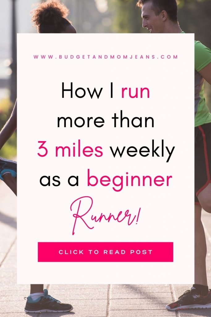 How I run more than 3 miles weekly as a beginner