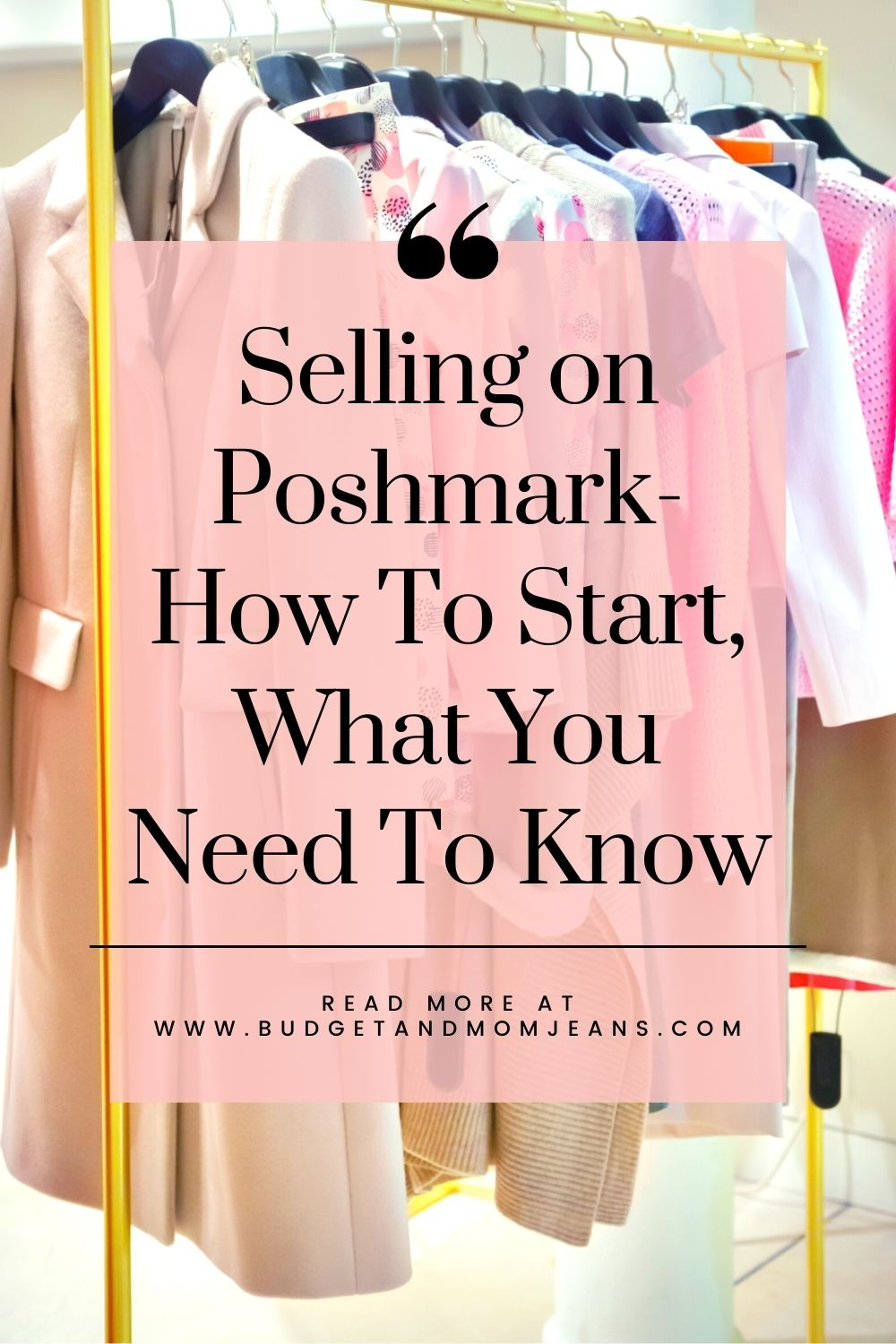 Selling on Poshmark- How To Start, What You Need To Know