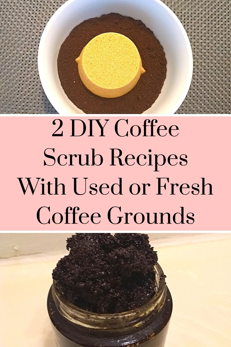 2 DIY Coffee Scrub Recipes With Used or Fresh Coffee Grounds