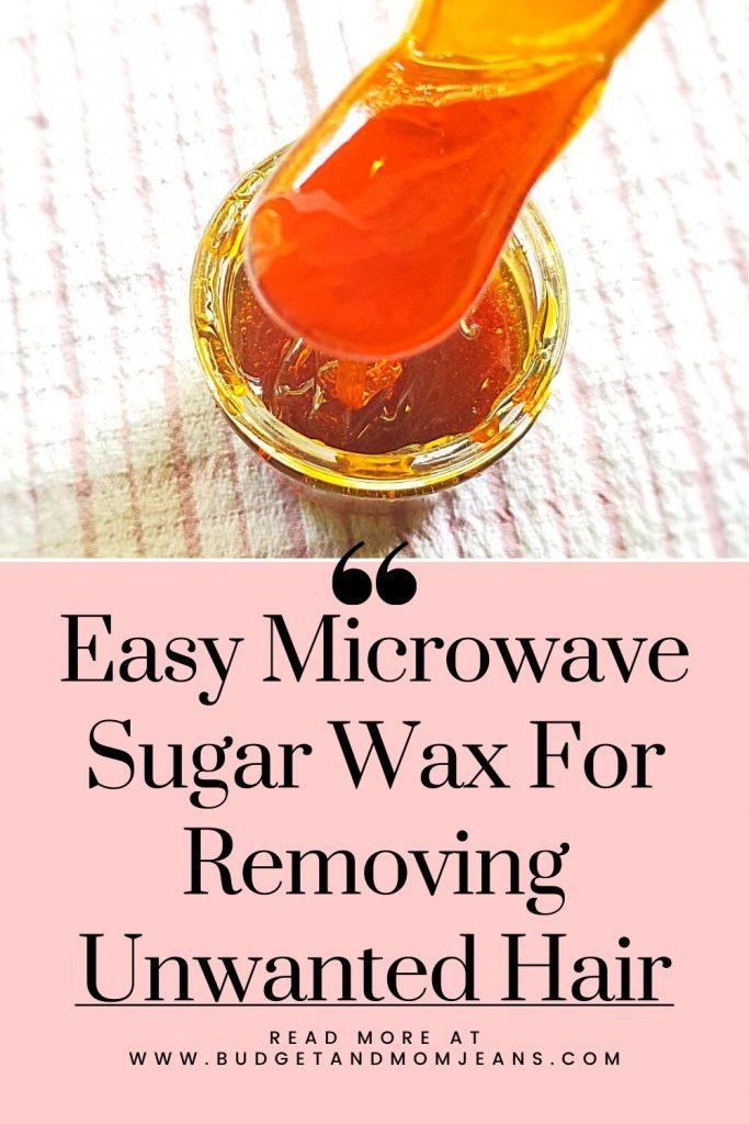 Easy Microwave Sugar Wax For Removing Unwanted Hair