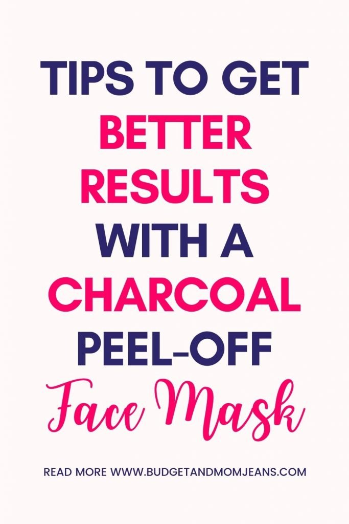 Charcoal Peel-Off Mask   How To Use For Amazing Results